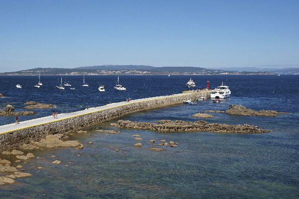 Der Nationalpark der Atlantischen Inseln von Galicien , Spanien
