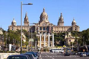 Das Nationalmuseum für katalanische Kunst , Nationales Kunstmuseum von Katalonien (MNAC) , Spanien