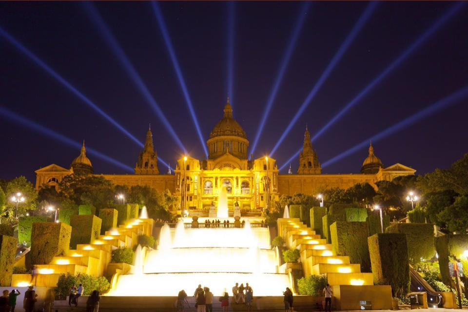 Das Nationalmuseum für katalanische Kunst , Spanien