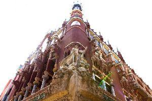 Der Palau de la Musica Catalana (Barcelona) , Palau de la Musica , Spanien
