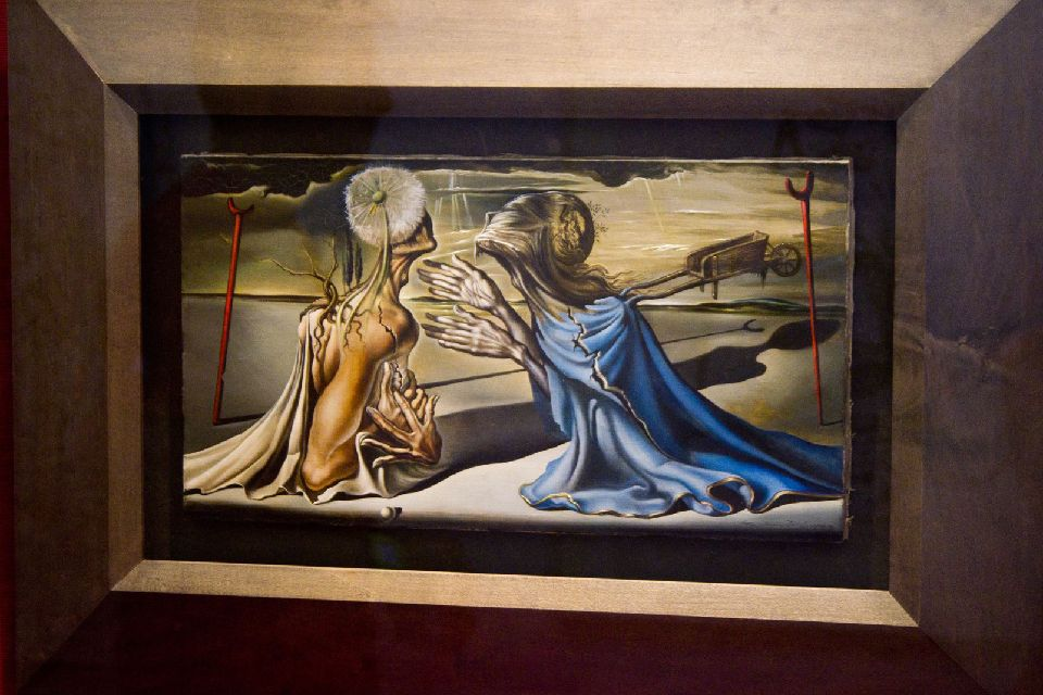 Das Dalí-Museum , Gemälde von Salvador Dali , Spanien