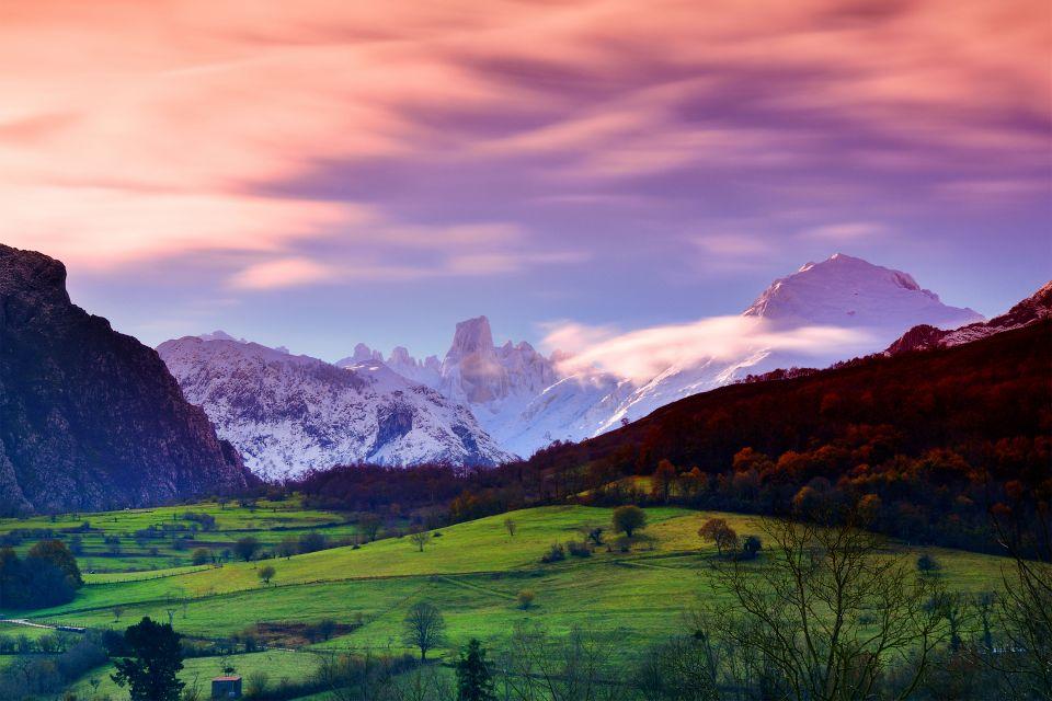 Hórreos asturianos, Los paisajes, Asturias