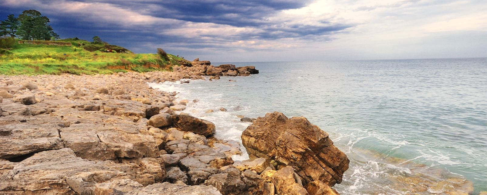 The beaches of Colunga, Coasts, Asturias