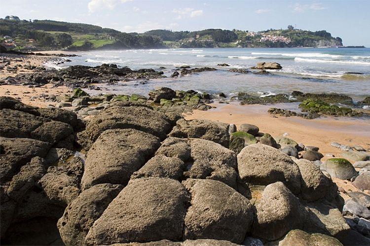 La costa asturiana, Playas de Colunga, Las costas, Asturias