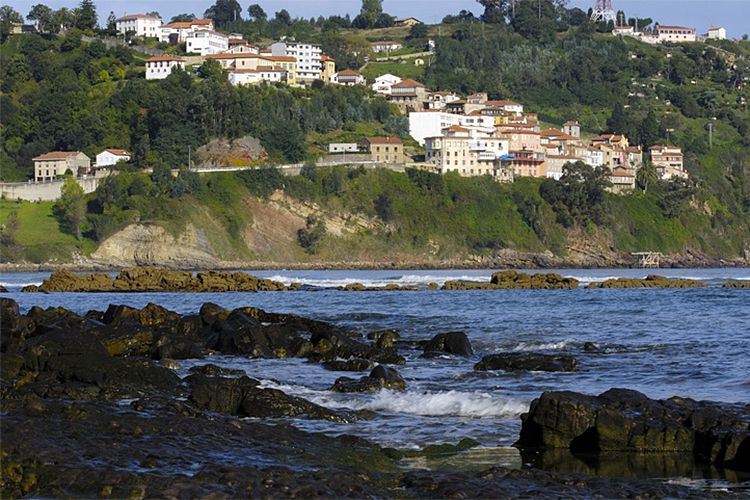 Playas de Colunga, Las costas, Asturias