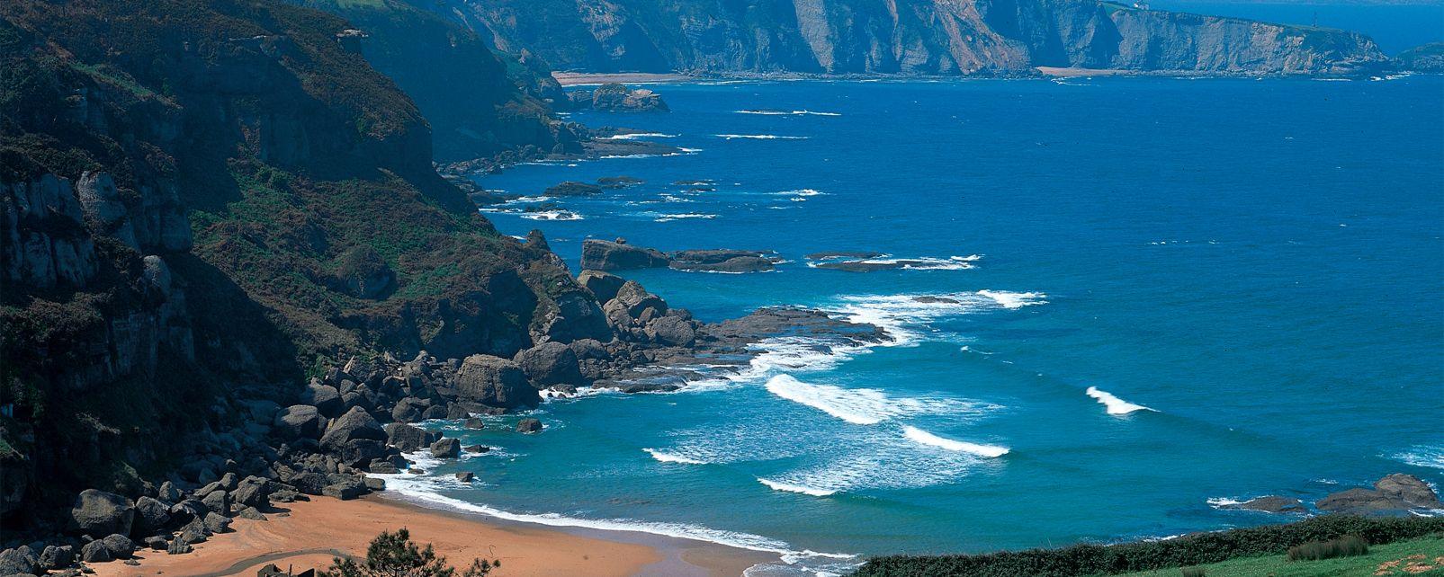 Ñora Beach, La Ñora beach, Coasts, Asturias