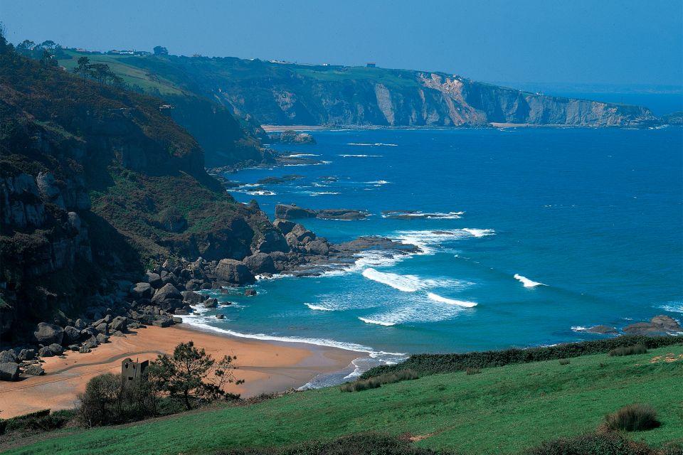 Playa de la Ñora, Las costas, Asturias