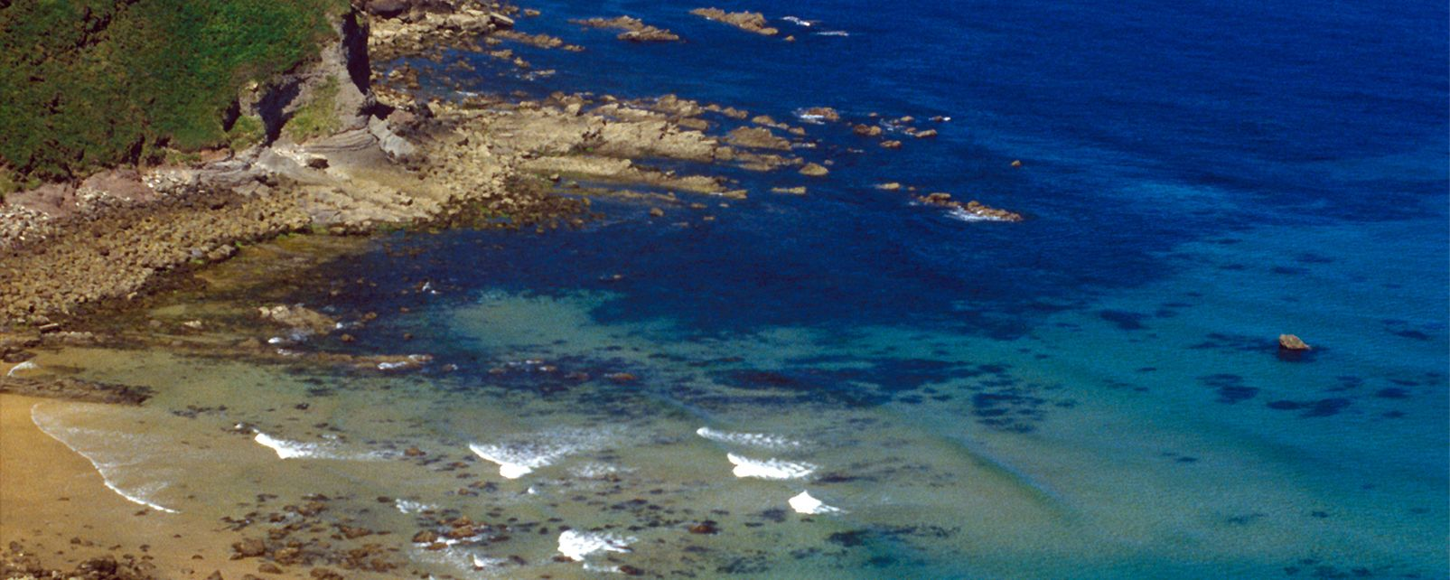 Les côtes, europe, espagne, asturies, el sabin, crique, atlantique, océan