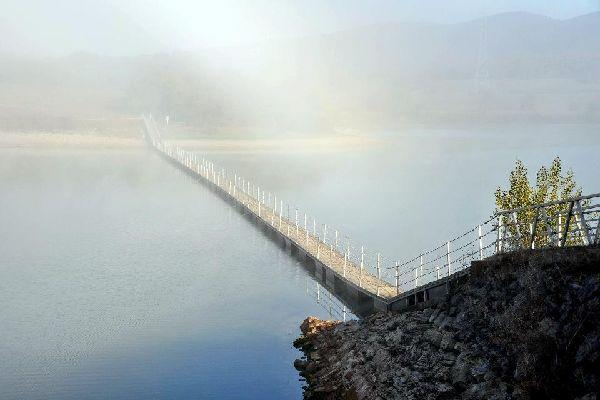 Les barrages d'Ullíbarri-Gamboa et Urrugne , Espagne