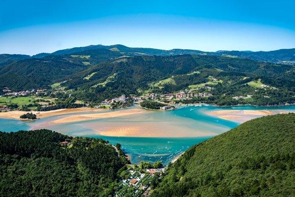 Réserve naturelle d'Urdaibai , Espagne