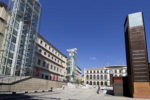 Le Musée national d'Art Reina Sofía , Espagne