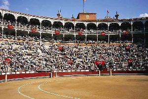 Die Stierkampfarena Las Ventas , Spanien