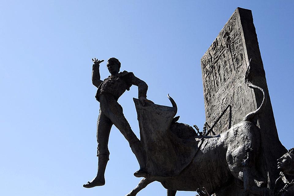 La plaza de toros de Las Ventas , España