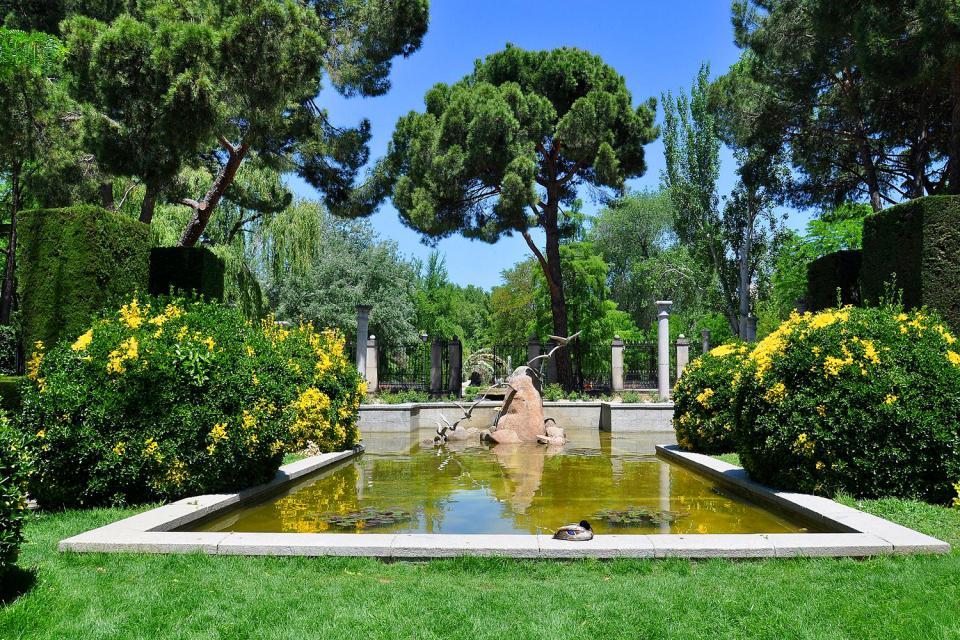 Parque del Retiro , El Palacio de Cristal , España