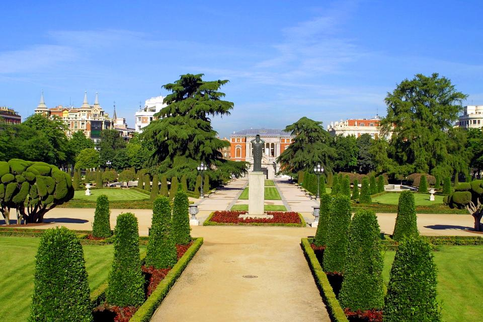 Parque del Retiro , El lago del Palacio de Cristal , España