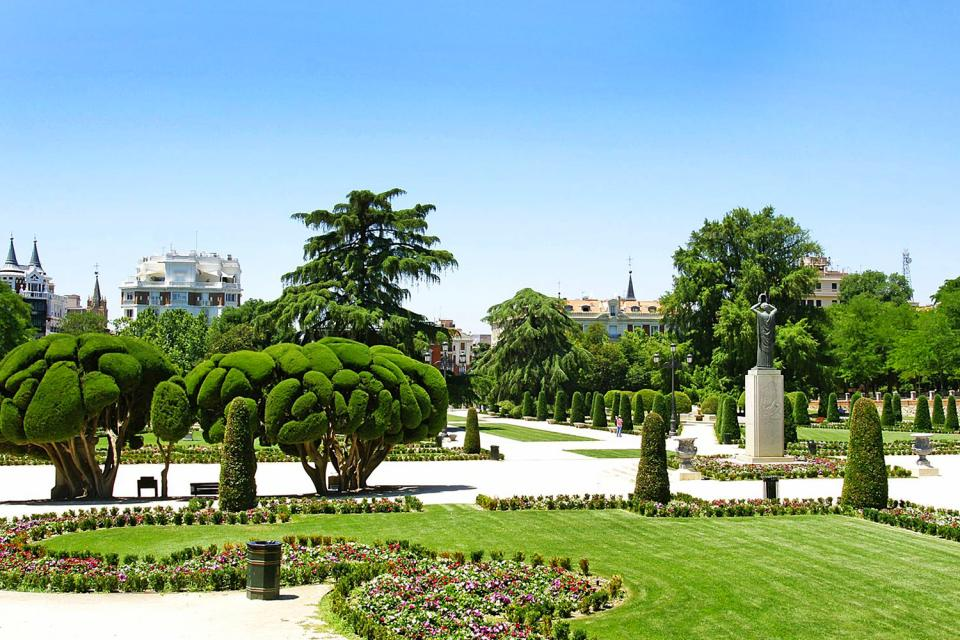 Retiro Park , A welcoming land , Spain