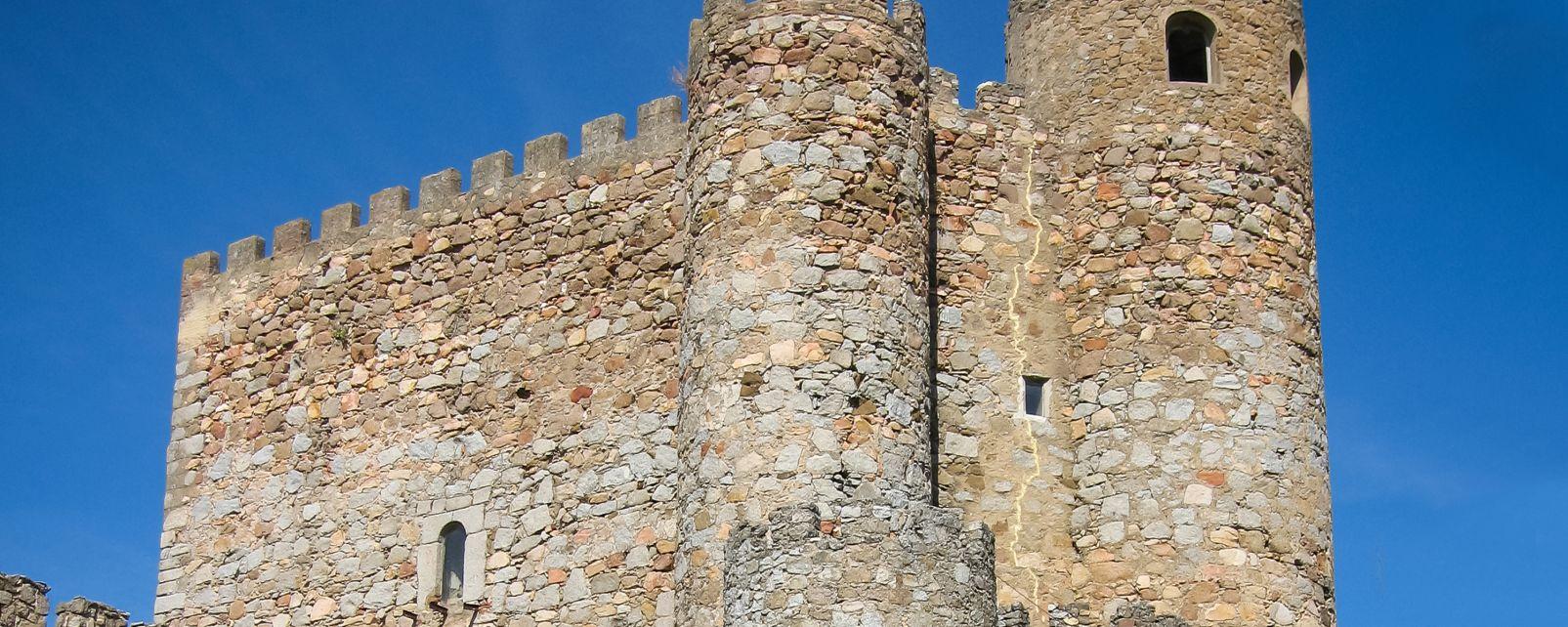 Die Burg Castillo de la Coracera, Die Monumente, San Martín de Valdeiglesias, Gemeinschaft Madrid
