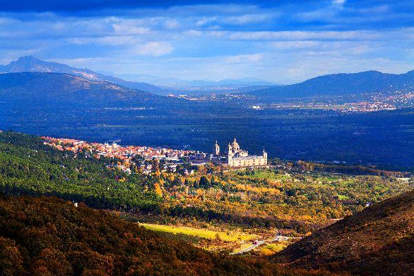 Das Kloster El Escorial , Spanien