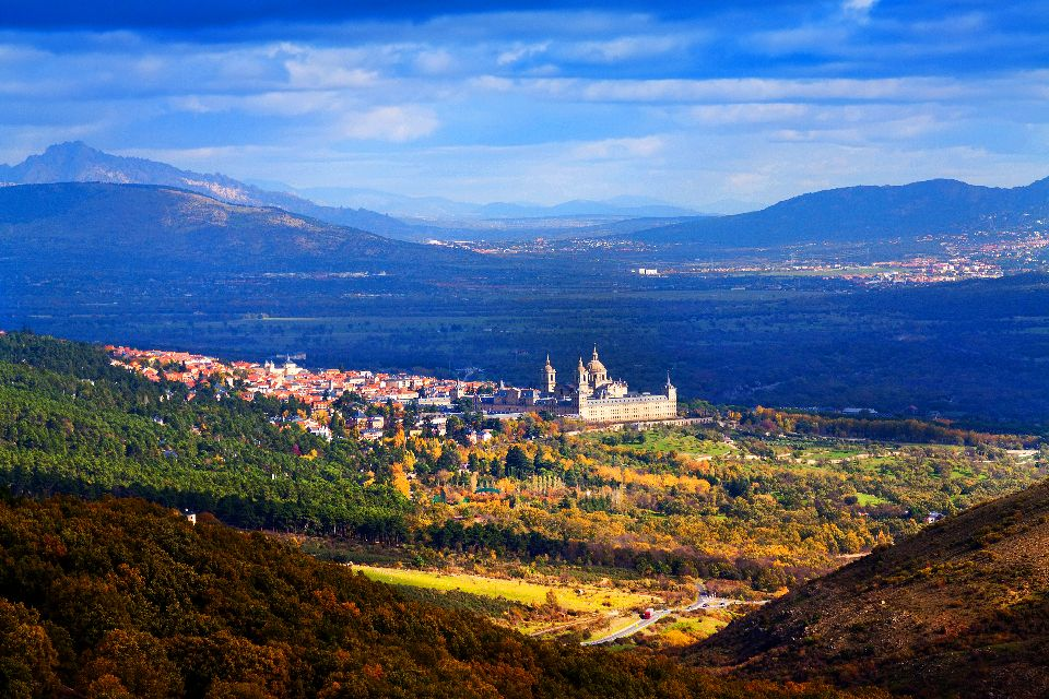 El monasterio de El Escorial , España