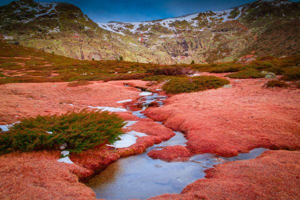 Las montañas de la Sierra de Guadarrama, La Sierra de Guadarrama, Los paisajes, Comunidad de Madrid