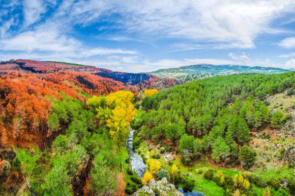 La Sierra de Guadarrama (España), La Sierra de Guadarrama, Los paisajes, Comunidad de Madrid
