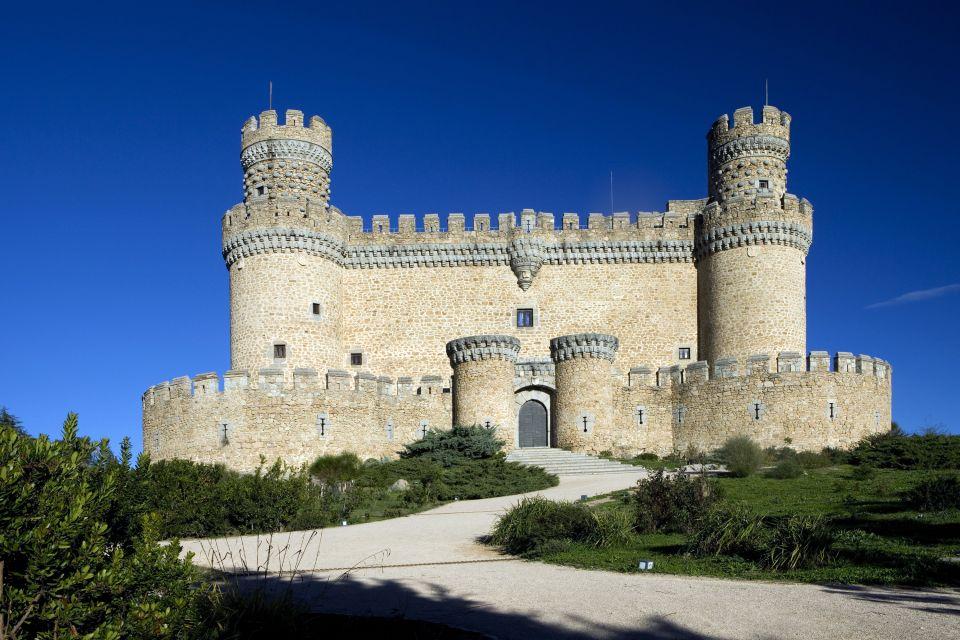 Les paysages, Guadarrama, madrid, espagne, europe, Manzanares El Real, chateau, manzanares