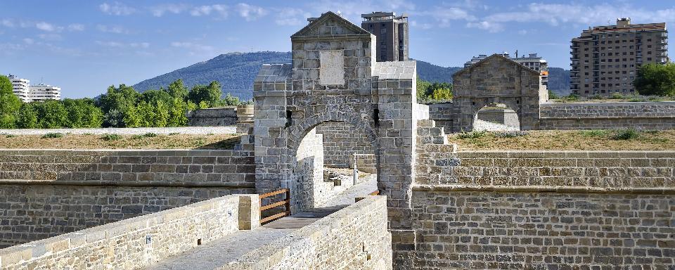 Ciudadela de pamplona navarra espa a - Pamplona centro historico ...