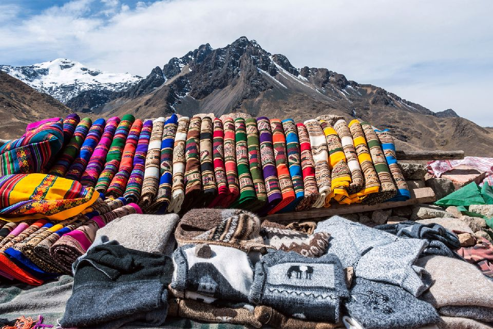 The Indian markets , Bolivia