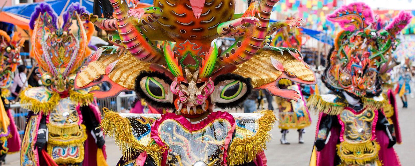 The Oruro Carnival , Bolivia