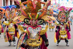 El Carnaval de Oruro , Bolivia