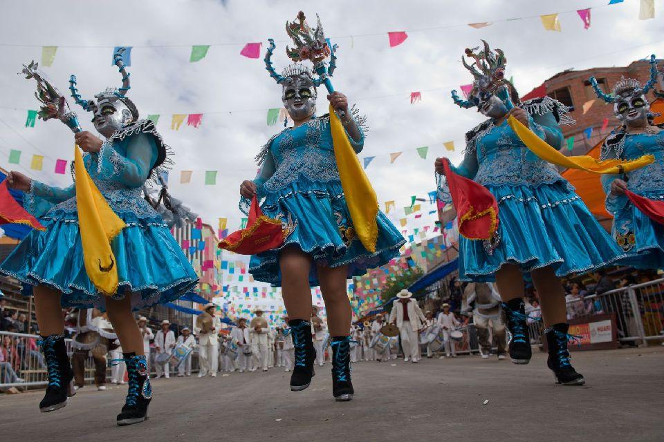 Il Carnevale di Oruro , Bolivia
