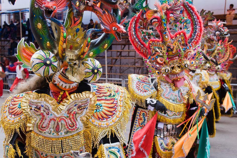 Le Carnaval D Oruro Bolivie