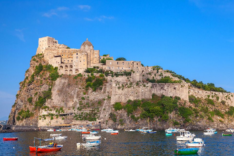 Las Islas del Golfo de Nápoles , Italia