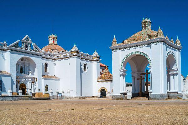 La route du Baroque , La basilique , Bolivie