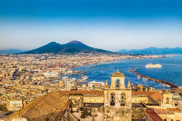 Der Vesuv , Italien