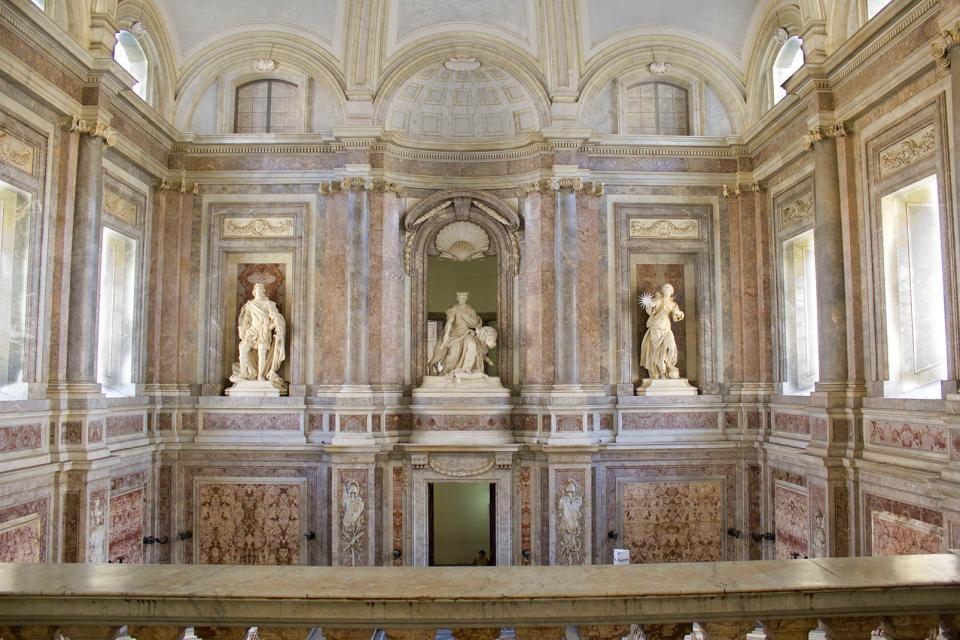 La Reggia di Caserta , La fontana di Eolo , Italia