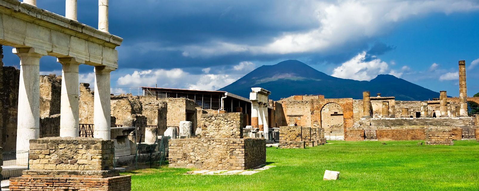 Pompeii, Ercolano, and Oplontis , The Great Theatre , Italy
