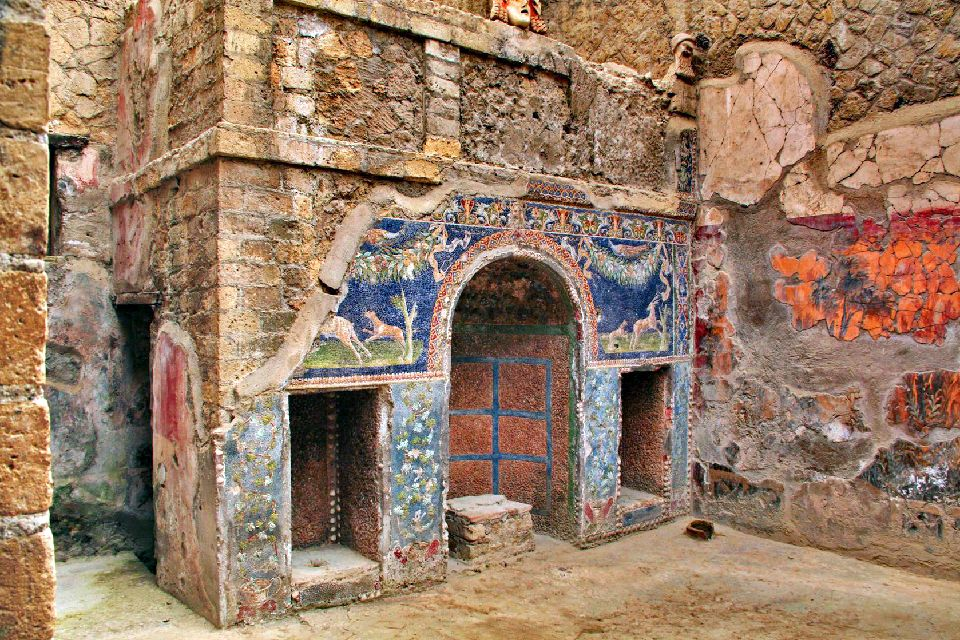 Pompeii, Ercolano, and Oplontis , A patrician house in Pompei , Italy