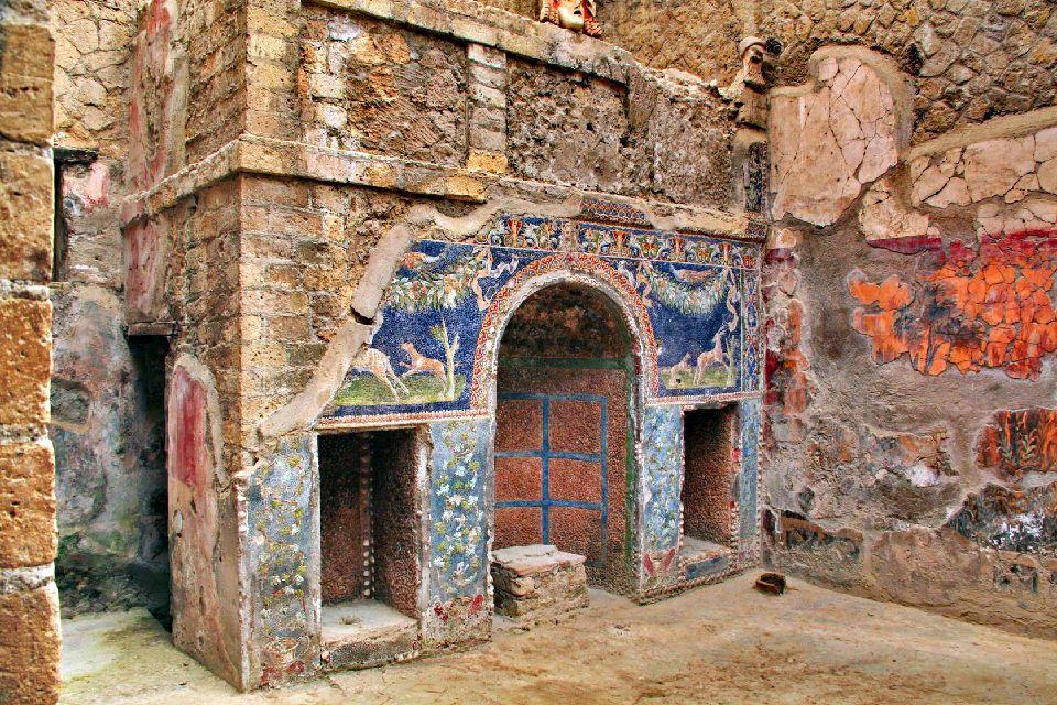 Pompéi , Habitation patricienne à Pompéi , Italie