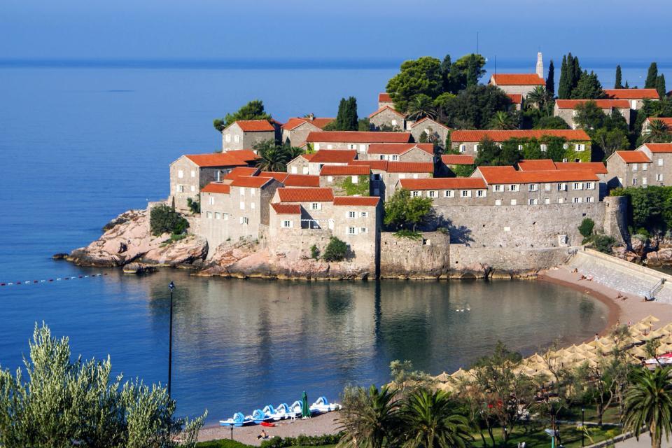 L'île de Sveti Stefan , Un hôtel de luxe , Monténégro