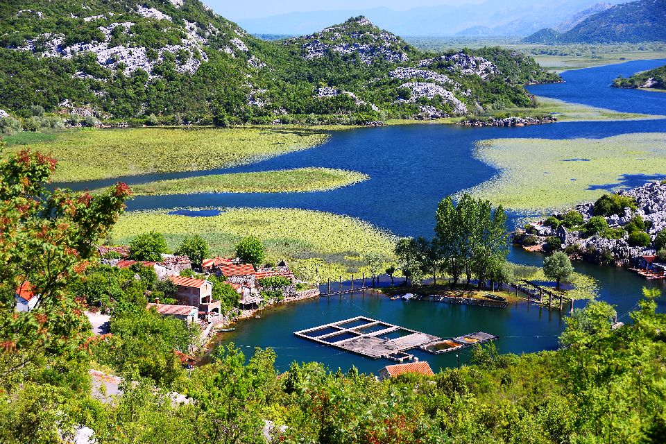 Lake Skadar National Park , Magnificent nature , Montenegro