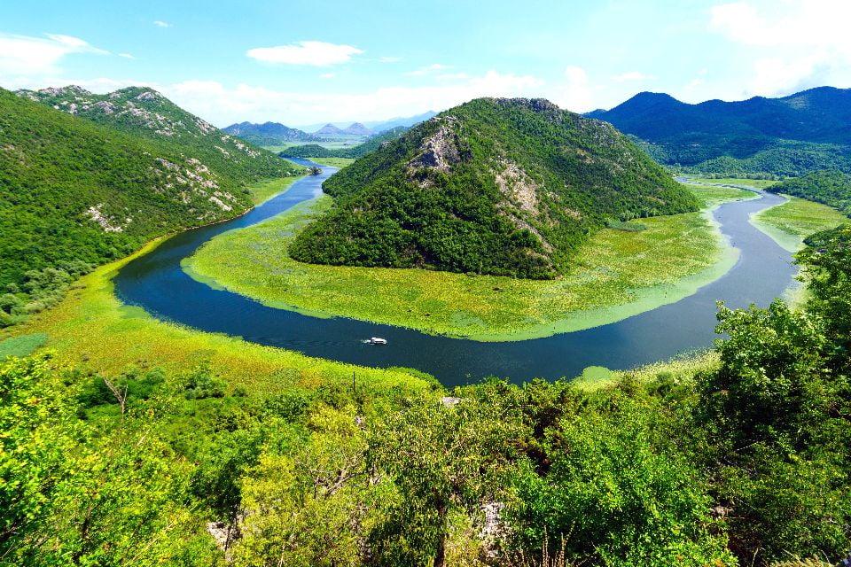 Parc national du lac de Skadar , Le Parc national du lac de Skadar , Monténégro