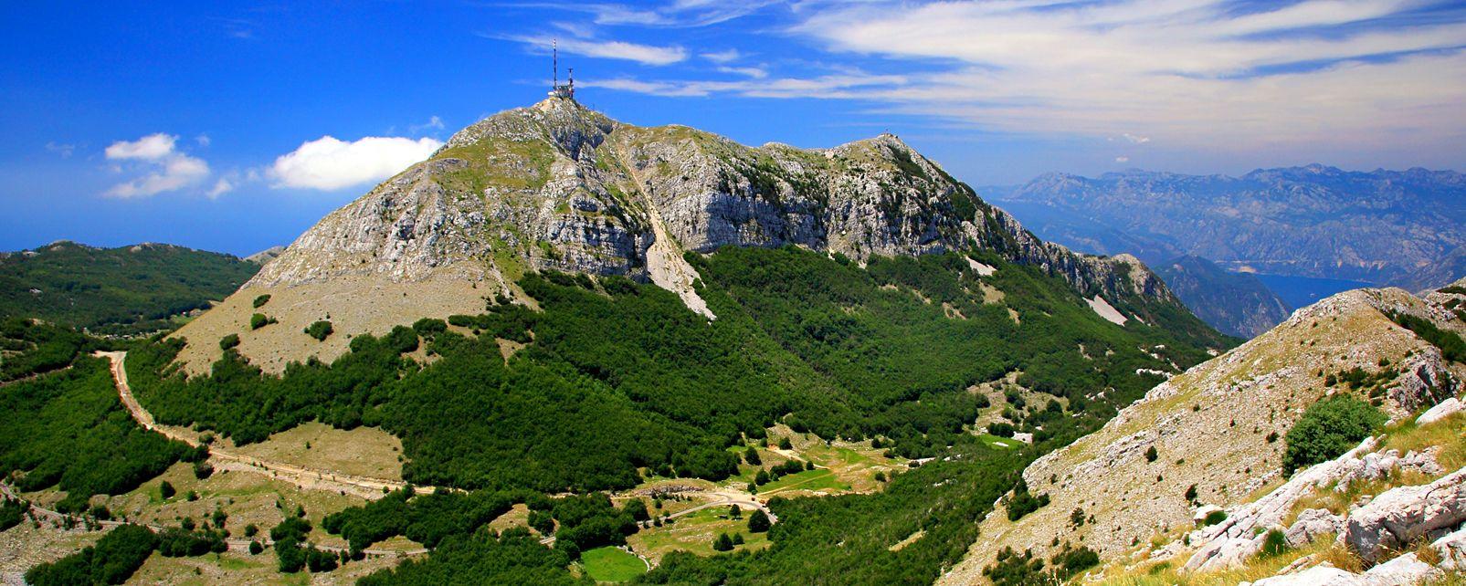 Nationalpark Lovcen , Der Nationalpark Lovcen , Montenegro