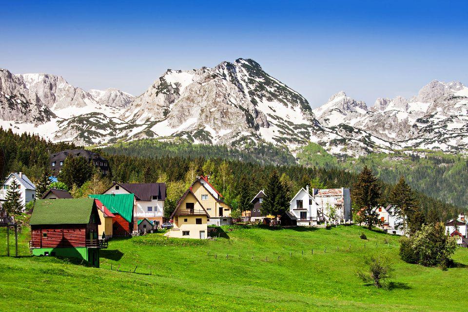 Parc national de Durmitor , Un haut lieu de tourisme alpin , Monténégro