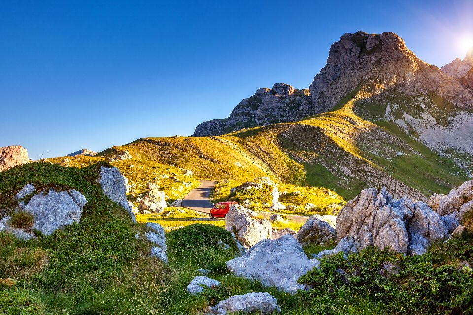 Durmitor National Park , Awe-inspiring canyons , Montenegro