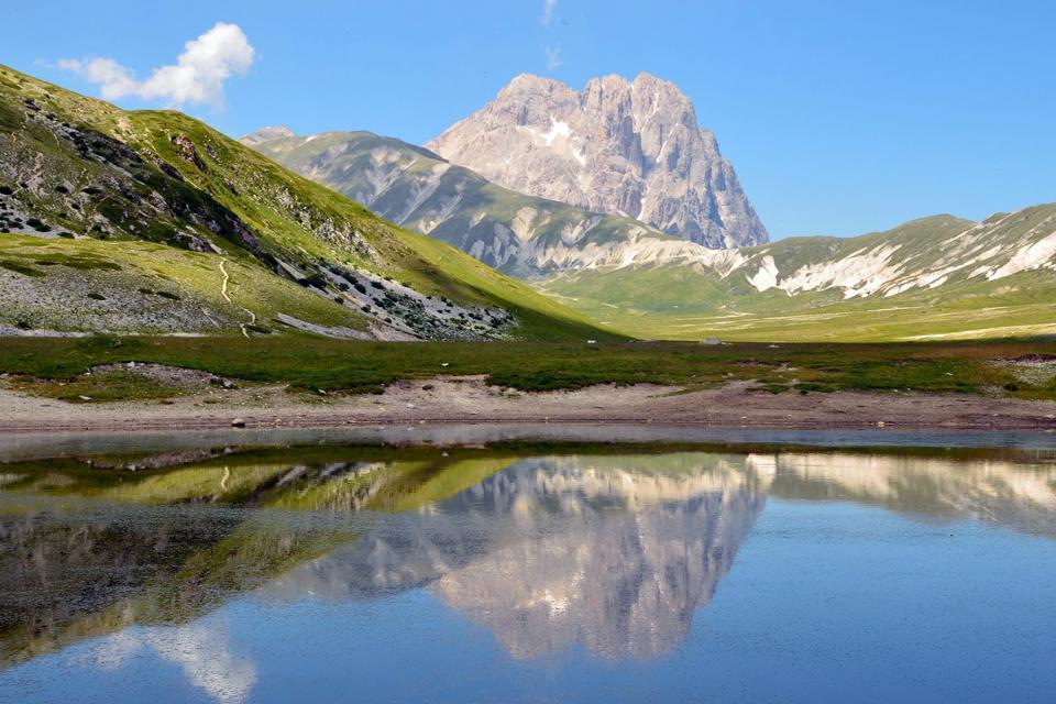 Nationalpark Gran Sasso Und Monti Della Laga Abruzzen Italien