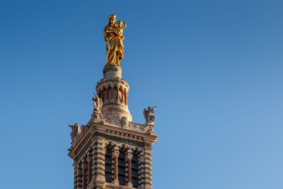Statue of Madonna and Child, Notre-Dame de la Garde, Monuments, Provence-Alpes-Côte d'Azur