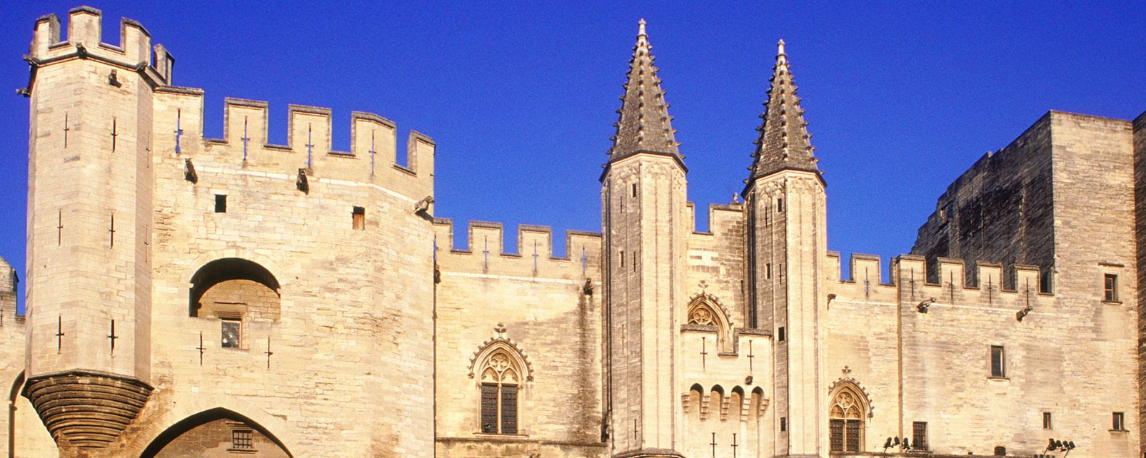 Les monuments, pascal antoine, Palais des papes FRance Vaucluse provence PACA chateau palais avignon