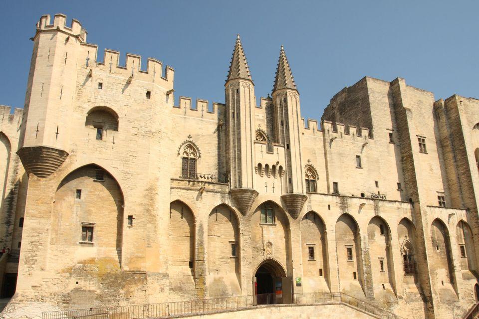 Plaza del Palacio Papal, Palacio de los Papas, Los monumentos, Avignon, Provence-Alpes-Côte d'Azur