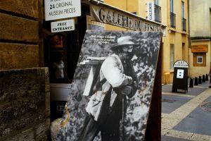 Les arts et la culture, europe  france  paca  provence alpes cote d azur  atelier de paul cezanne